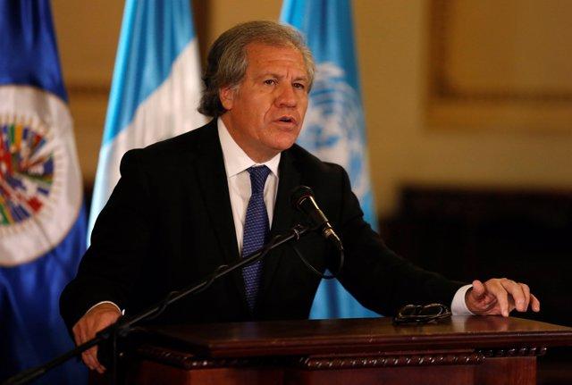 El secretario general de la Organización de Estados Americanos, Luis Almagro