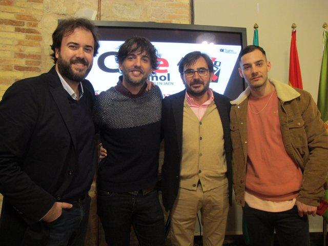Presentación de las películas 'Fe de etarras' y que baje 'Dios y lo vea' en Jaén