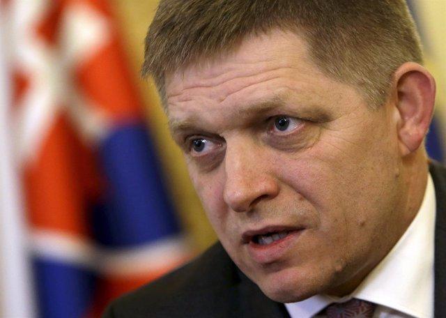 El primer ministro eslovaco, Robert Fico