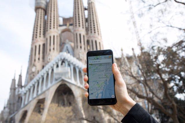 Uber a Barcelona