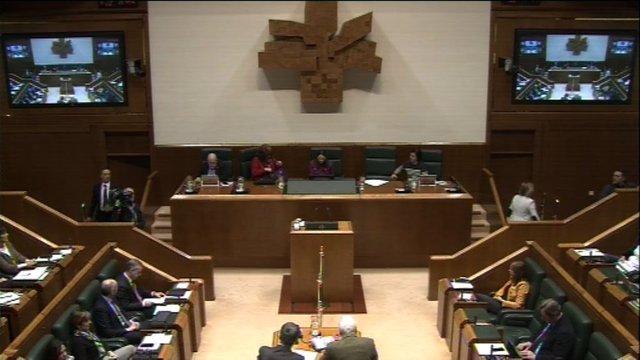 Ple del Parlament basc