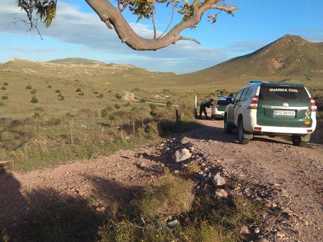 Vigilancia de una finca en el Valle del Rodalquilar