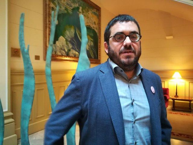 Vidal acusa al PP de utilizar la agricultura 'como excusa para urbanizar el suelo rústico'