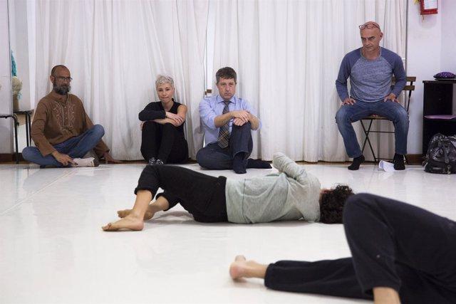 La Compañía Nómada estrena en el Teatro Leal la pieza de danza contemporánea 'Dulces bestias'