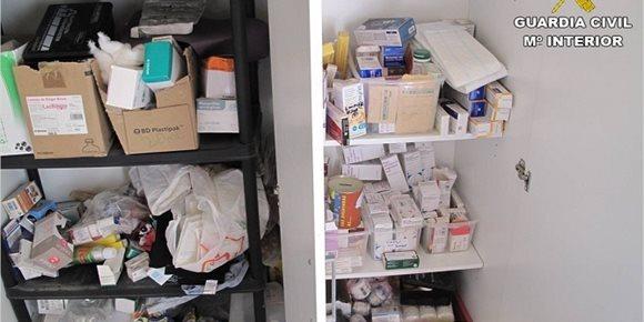 4. Intervenidas 312 unidades de medicamentos caducados en un centro de animales de Albatera (Alicante)