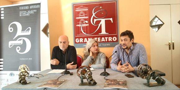 6. Borja Cobeaga, Antonio de la Torre y Marian Álvarez, premios San Pancracio del Festival de Cine de Cáceres