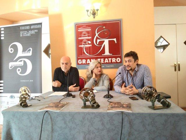 Presentación de los Premios San Pancracio en Cáceres