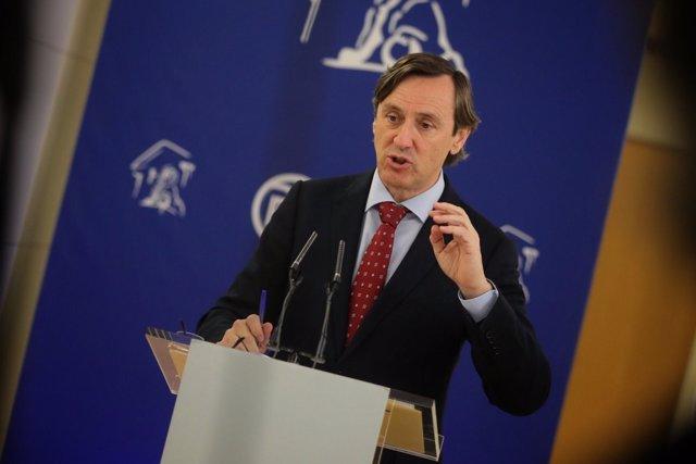 Rafael Hernando, portavoz parlamentario del Partido Popular
