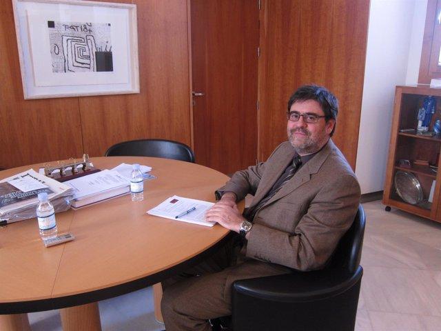 El presidente de la Cámara de Cuentas de Andalucía, Antonio M. López