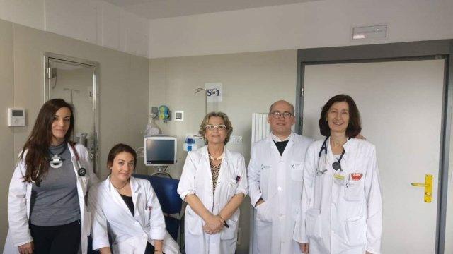 Equipo del Hospital de Cáceres