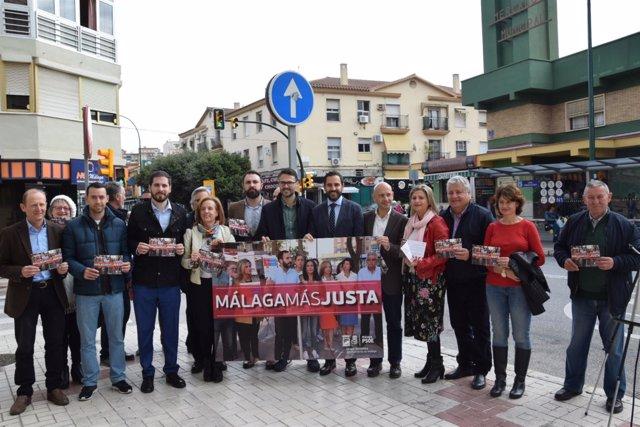El PSOE presenta Málaga más justa