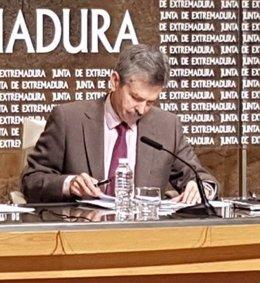 José Luis Navarro, consejero de Economía