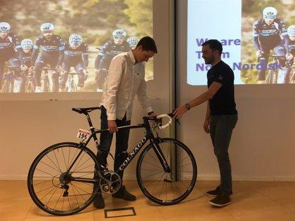 Un joven español con diabetes gana la bicicleta del Team Novo Nordisk en su sorteo