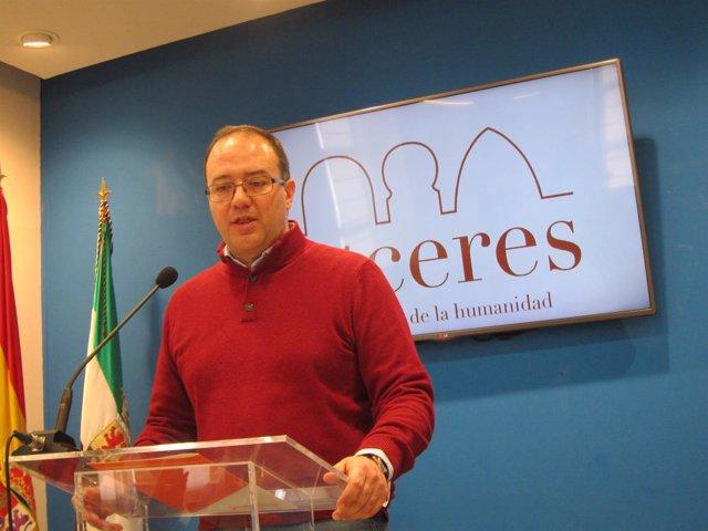 Cayetano Polo, portavoz de Ciudadanos en Ayuntamieto de Cáceres