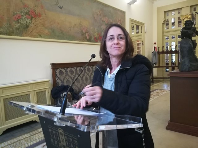 Olga Ballester, diputada de Cidadanos Baleares