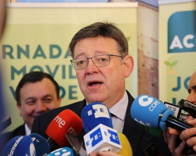 Ximo Puig a Alacant, en imatge d'arxiu