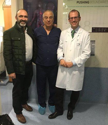 El complejo hospitalario Ruber Juan Bravo realiza su primera reducción del seno coronario