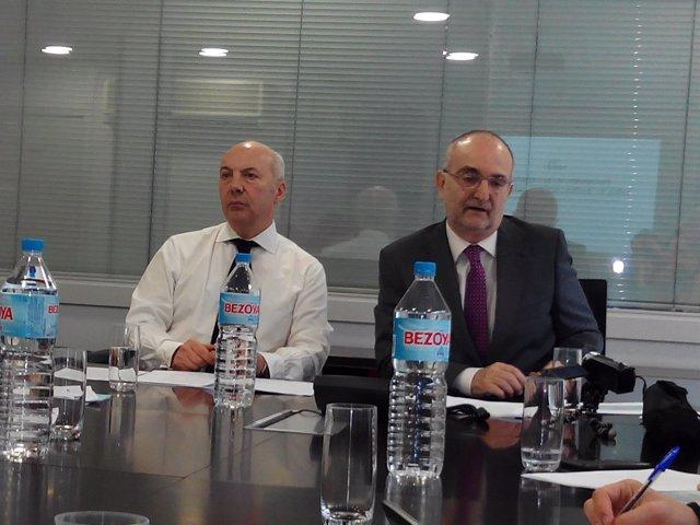 Enrique Laucirica y Jesús López Cabeza (FORTA)