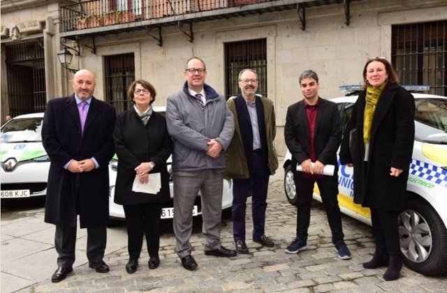 Sabanés, Barbero y García Castaño presentan nuevos coches eléctricos