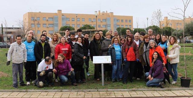 Ndp. Más De 30 Voluntarios De Enagás, Estudiantes De Jardinería Y Fundación Juan