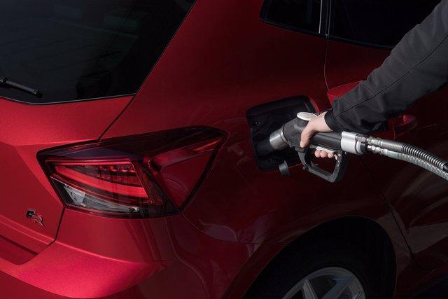Carga de vehículo de gas natural