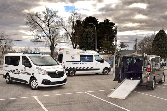 Vehículos adaptados de Renault