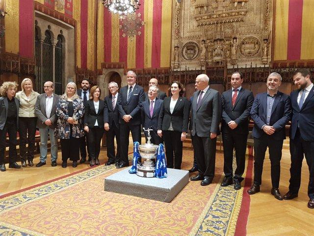 Presentación del Barcelona Open Banc Sabadel-66 Trofeo Conde de Godó