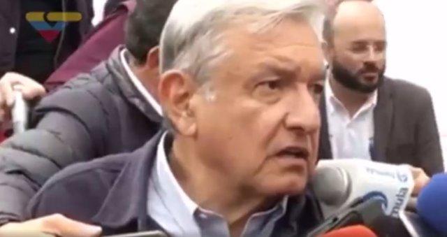 Supuesto vídeo de la televisión venezolana