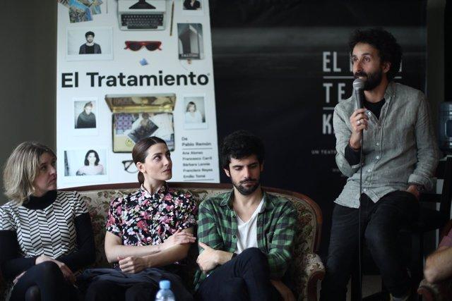 Presentación de la obra de teatro El tratamiento en Madrid