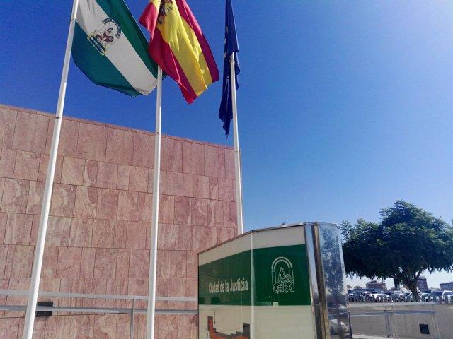 Fachada Ciudad de la Justicia de Málaga