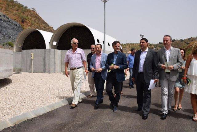 EDAR depuradora Colmenar josé fiscal consejero inauguración 2015