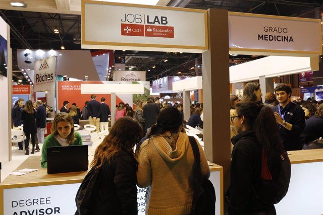 Stand 'Degree Advisor' de Job Lab CEU - Santander Universidades