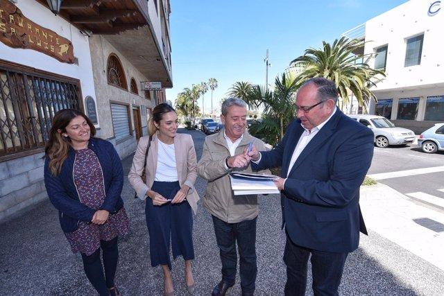 Nota De Prensa Y Fotografías: El Sauzal Obras Cooperación Municipal Y Vivienda