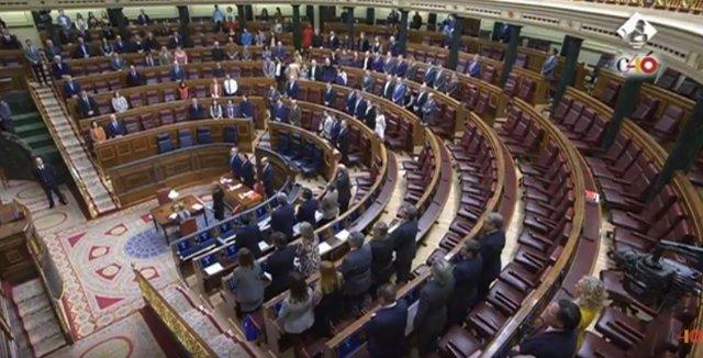 El Congreso guarda un minuto de silencio por Gabriel