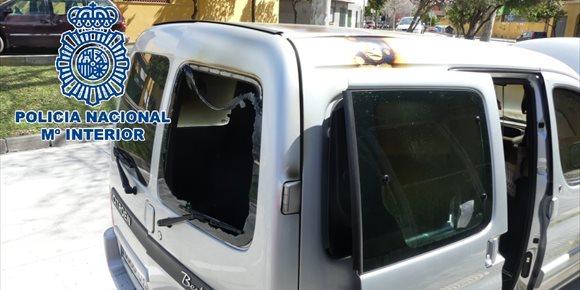 8. Detenido en Algeciras por provocar el octavo incendio en un vehículo en dos años