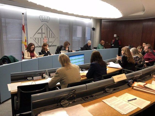 Comisión de Derechos Sociales de Barcelona de marzo