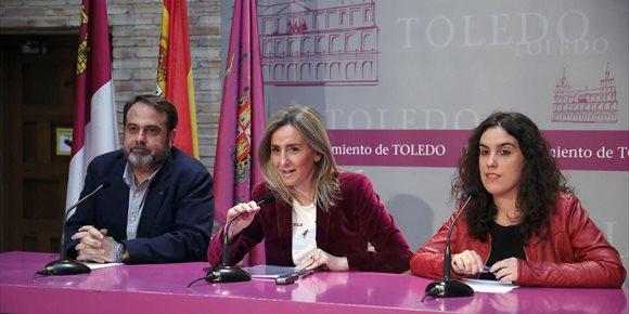 3. El programa 'Garantía +55' permitirá rehabilitar 38 muros del Casco Histórico de Toledo en seis meses