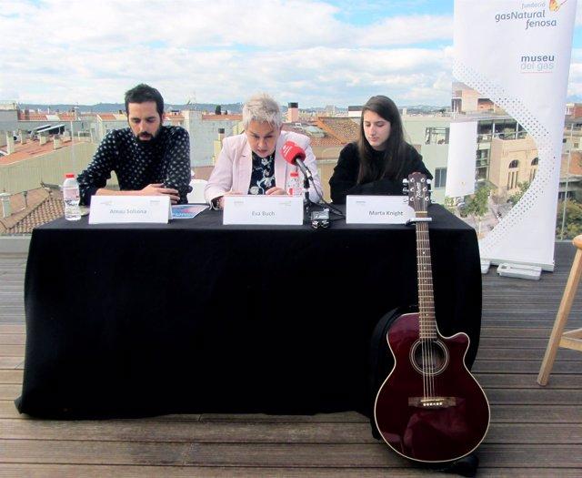 Arnau Solsona, Eva Buch y Marta Knight presentan los Vermuts Embassa't