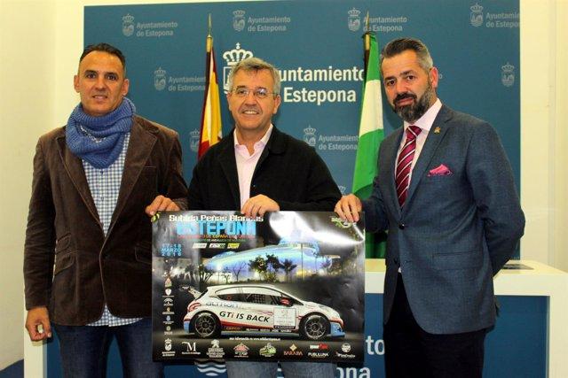 García Urbano pressenta la prueba de automovilismo