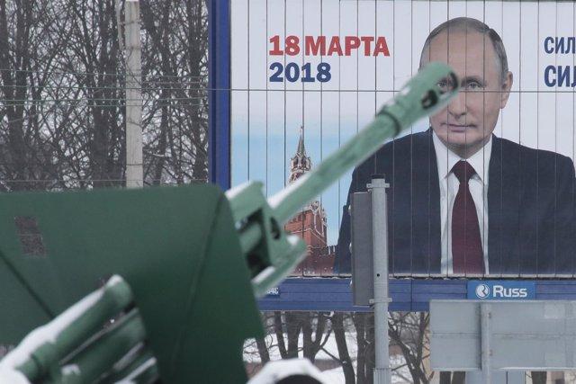 Cartel electoral de Putin en Rusia