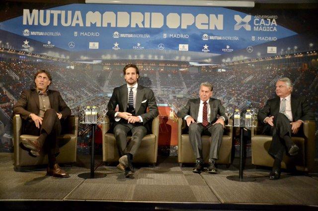 Feliciano López, nuevo director adjunto del Mutua Madrid Open
