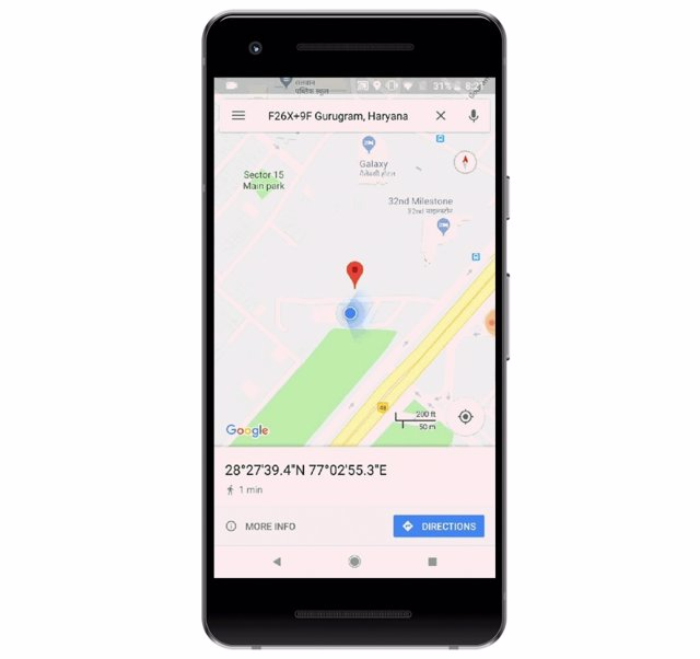 Códigos Plus, nuevo sistema de Google para ubicar dirección en Maps