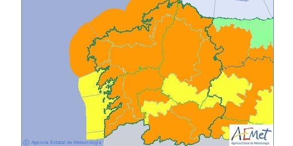 4. Suspendidas as actividades no exterior dos colexios en case toda Galicia ante a chegada de 'Gisele'