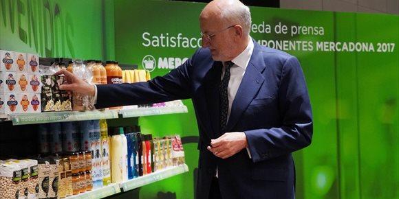 1. Mercadona sube un 6% las ventas y reduce beneficios un 49%, tras invertir 1.088 millones