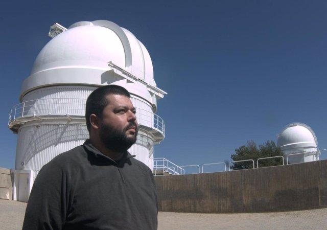 El investigador de la UHU, José María Madiedo.
