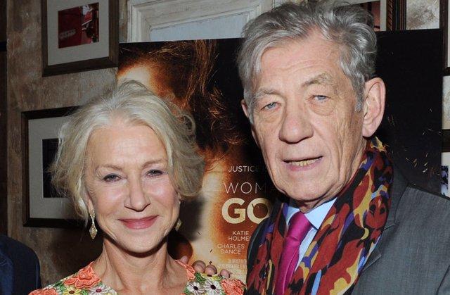 Sir Ian McKellen y Helen Mirren