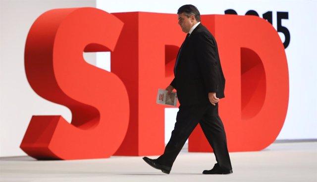 El líder del SPD, Sigmar Gabriel