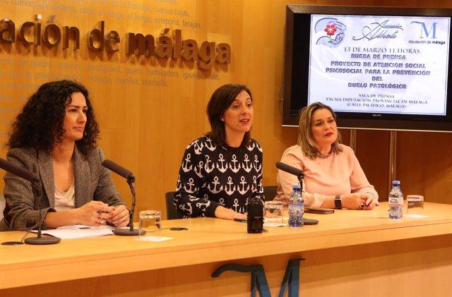 Lourdes Burgos diputada PP presente proyecto Asociación Alhelí duelo patológico