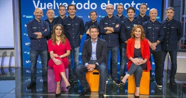 El nuevo equipo de Movistar+ para la temporada del motor