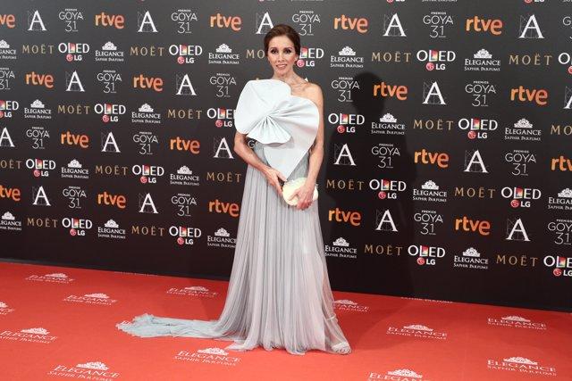 Ana Belén en els Premis Goya 2017